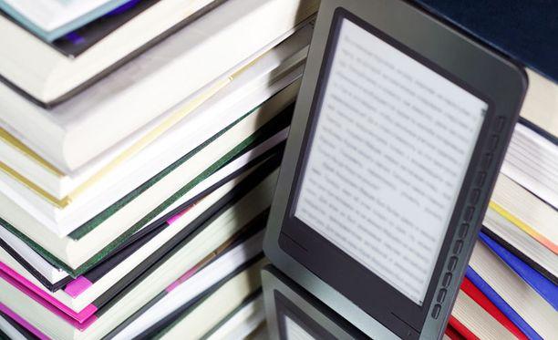 HS:n sähköisessä kirjastossa on lanseerauksen hetkellä reilu sata kirjaa.