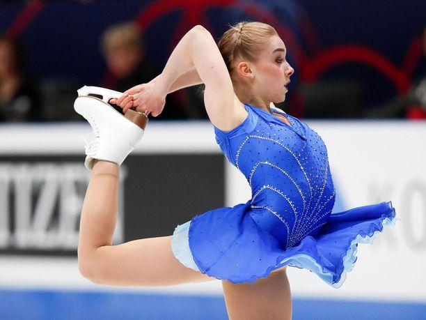 Viveca Lindfors luisteli viimeisen kilpailunsa vain 19-vuotiaana.