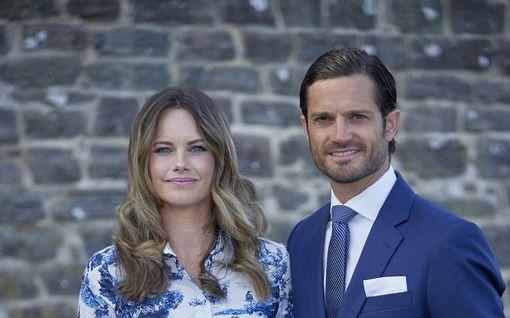 Ruotsin prinssi Carl Philip ja prinsessa Sofia sairastuivat koronavirukseen