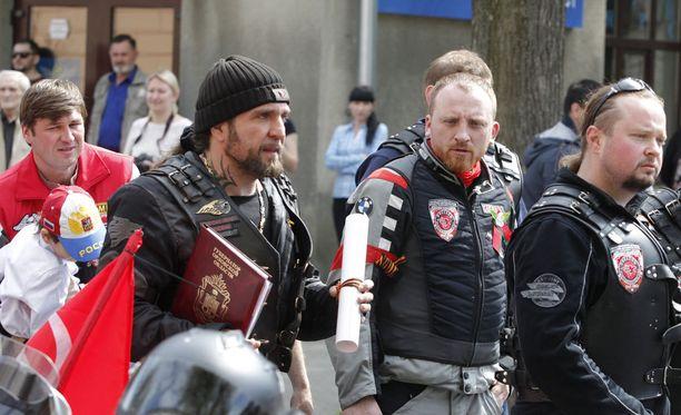 Erityisen epätoivottu vieras Saksassa on Yön susien johtaja Aleksandr Zaldostanov.