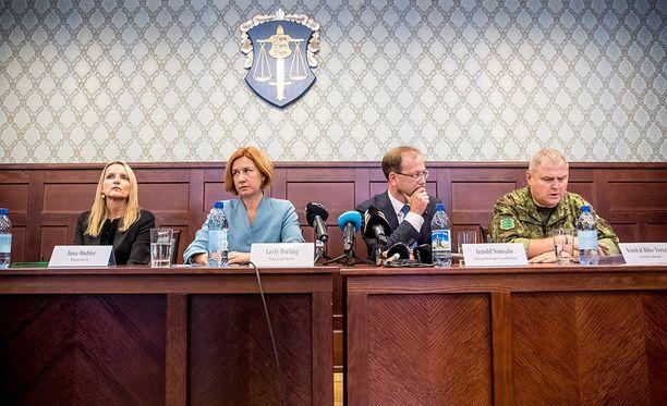 Deniss Metsavasin tapauksesta pidettiin keskiviikkona tiedotustilaisuus Tallinnassa.