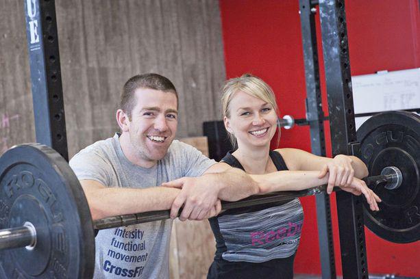 Hannan ja Benin mukaan mukaan monella CrossFitin harrastajalla on urheilijatausta, mutta se ei ole välttämätöntä.