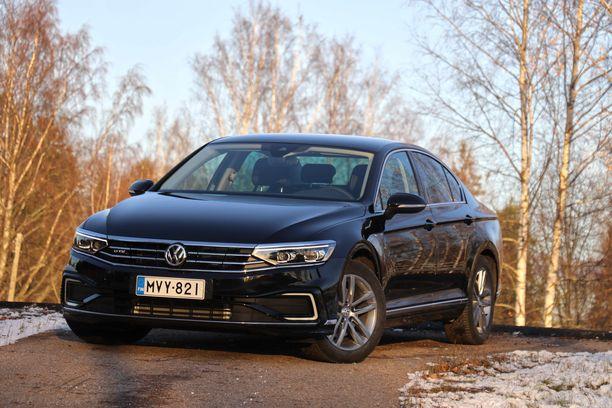 Volkswagen Passatin olemus heijastelee rauhallista arvokkuutta.