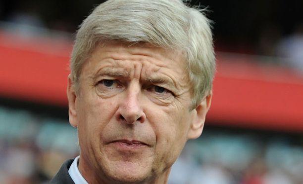 Arsene Wengerin Arsenal on kriisissä.