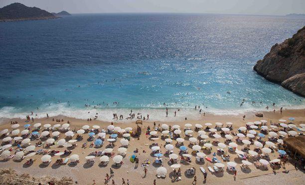 Aurinkomatkojen asiakkaita on Turkin rantakaupungeissa tällä hetkellä noin 1 200.