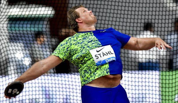 Daniel Ståhl ei ollut tiistaina vireessä.