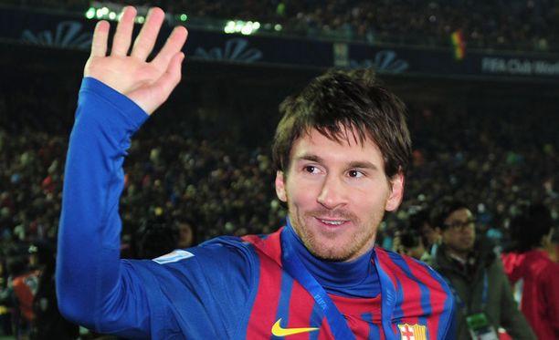 """Leo Messi joutui todella erikoiseen """"erikoishaastatteluun""""."""