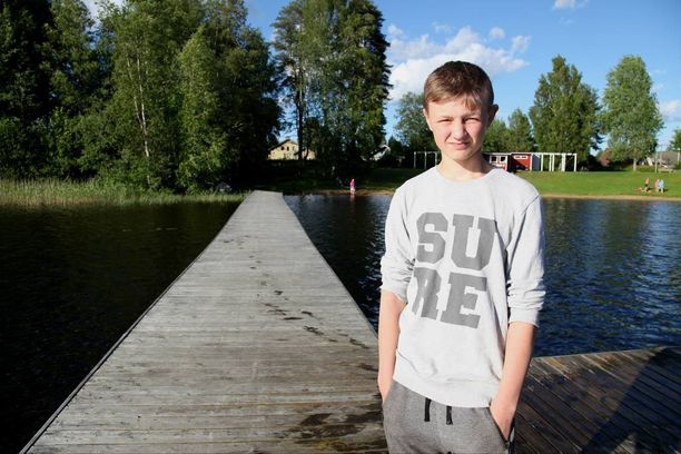 12-vuotias Tico Laitinen näytti Iltalehdelle paikan, jossa hän pelasti hätään joutuneen miehen.