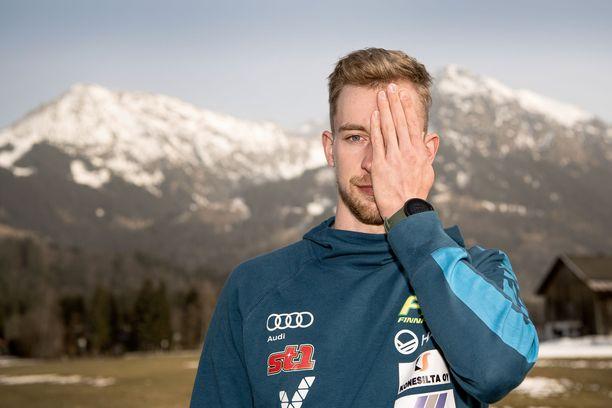 Joni Mäki haluaa hiihtää Saksassa kolme MM-kisastarttia ennen ensi viikon perjantain viestiä.
