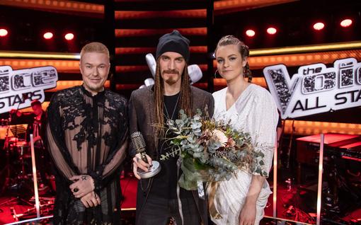 Murskavoitto! Michael Monroen suojatti peittosi Jesse Kaikurannan The Voice of Finlandissa