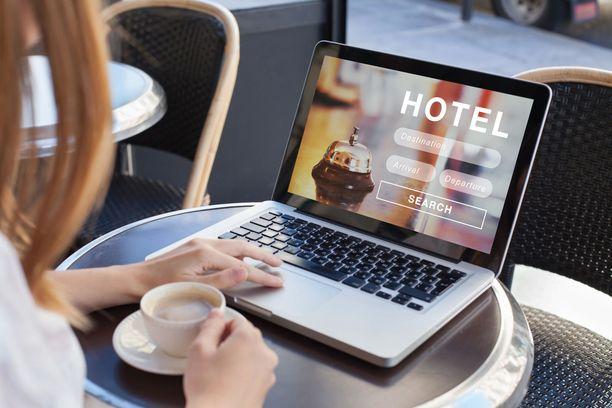 Jos hotellihuone on varattu joltain varaussivustolta, pitää myös peruutus hoitaa sen kautta.