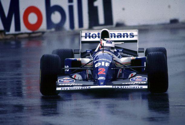 Nigel Mansell palasi kaudeksi 1994 Williamsille, kun talli oli menettänyt Ayrton Sennan.
