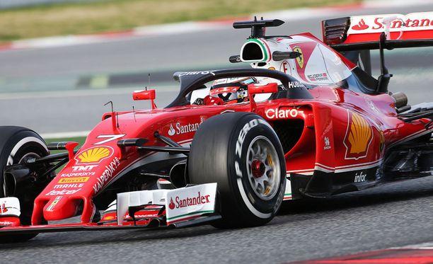 Ferrari testasi uutta turvakehikkoa tällä viikolla.