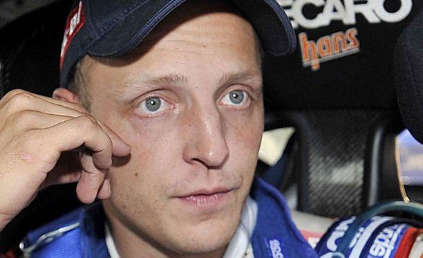 Mikko Hirvonen sortui ajovirheeseen.