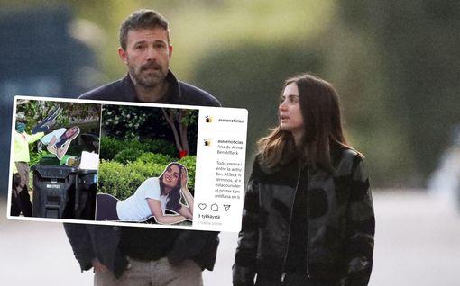 Ben Affleckin piharoskiksesta löytyi iso Ana de Armasin pahvinukke – viimeinen silaus erolle