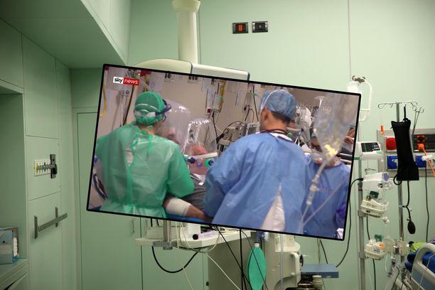 Potilaita hoidetaan ensiapuosastolla teho-osaston sijaan.