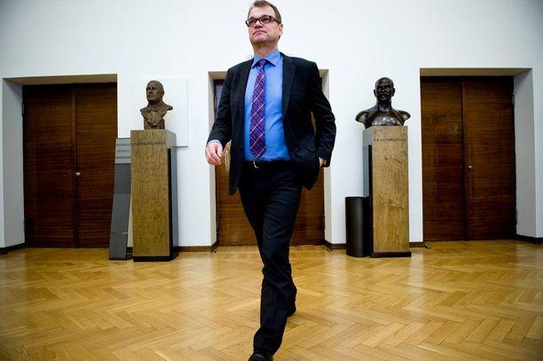 Pääministeri Juha Sipilä uskoo talouskäänteen nyt tulleen.