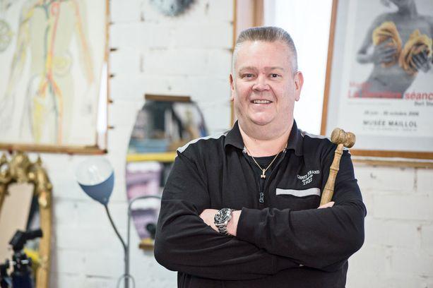Aki Palsanmäki toivoo, että voisi jäädä osa-aikaeläkkeelle 55-vuotiaana.