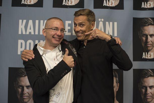 Stubb on kirjoittanut kirjan yhdessä Karo Hämäläisen kanssa.