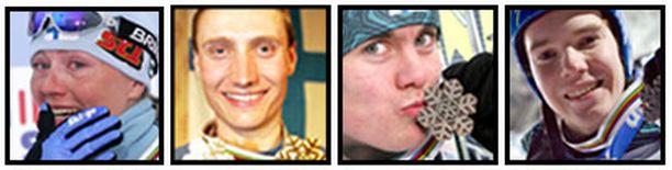 Henkilökohtaiseen mitaliin suomalaisista ylsivät Virpi Kuitunen, Hannu Manninen, Anssi Koivuranta ja Harri Olli.