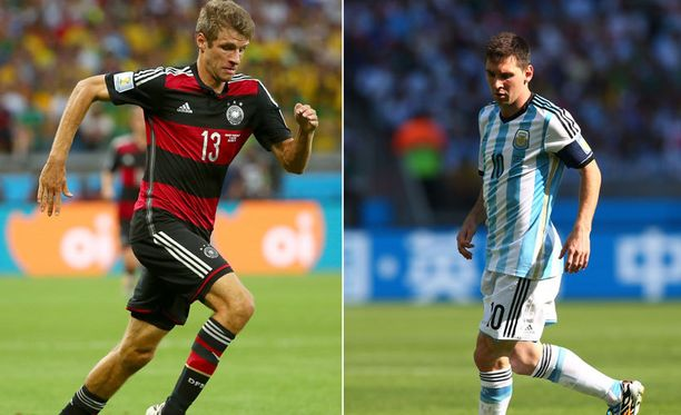 Onko tänään Thomas Müllerin vai Lionel Messin päivä?