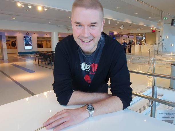 Marco Bjurström, 53, tuli tunnetuksi vuosina 1997-2005 BumtsiBum!-ohjelman juontajana