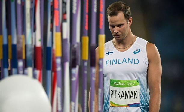Tero Pitkämäen urakka Riossa päättyi karsintapettymykseen.