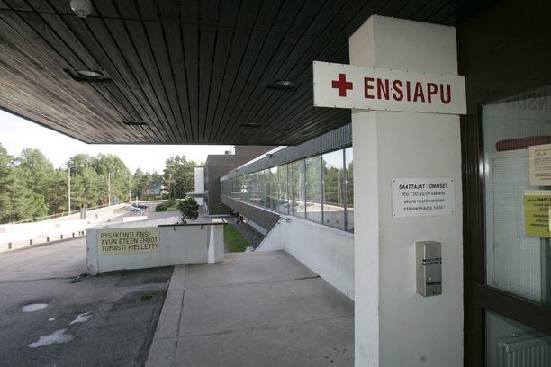Kymsoten ohjeistus on herättänyt kysymyksiä. Arkistokuva Kymenlaakson keskussairaalalta.