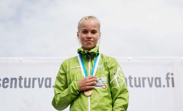 Alisa Vainio pääsee EM-kilpailujen kymppitonnille.