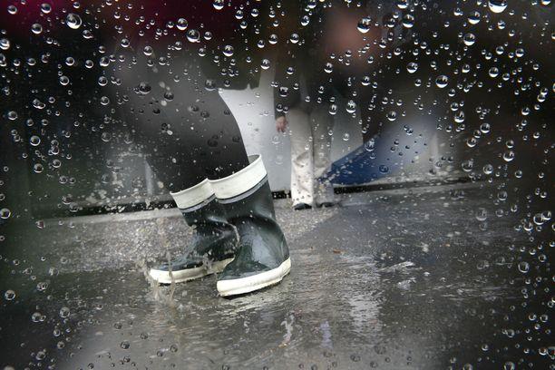 Sadetta on luvassa tänään eri puolilla maata, mutta se ei välttämättä jatku koko päivää.