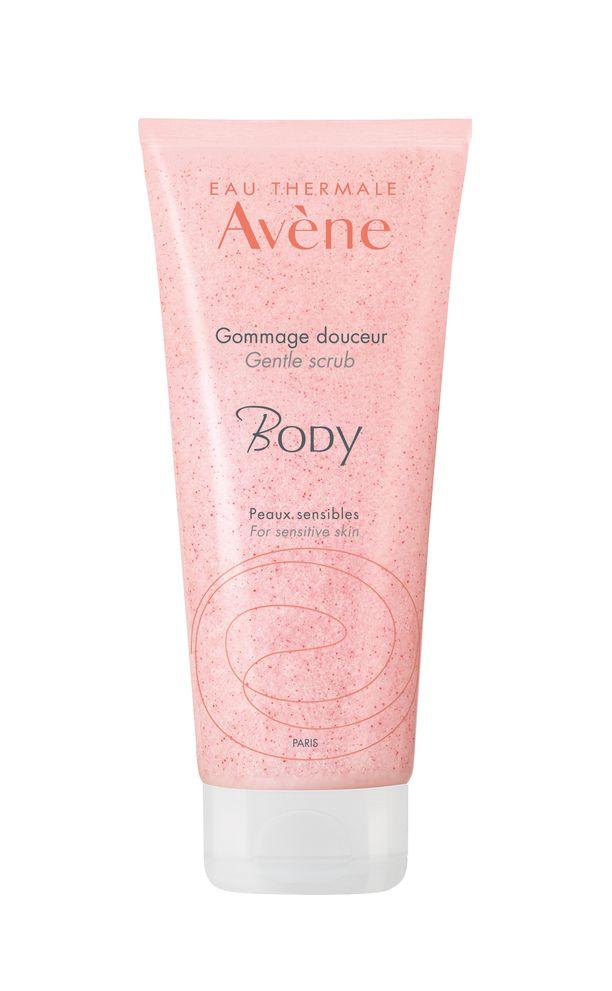 Avène Gentle Body Scrub on hellävarainen kuorintavoide vartalolle. Se sisältää selluloosa- ja jojobamikrohelmiä, jotka kuorivat kuolleita ihosoluja.