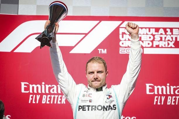 Valtteri Bottas ajoi Austinissa ehkä uransa parhaan F1-osakilpailun.