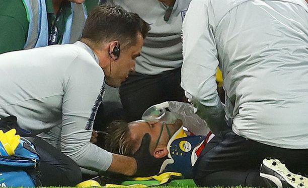 Luke Shaw'n loukkaantuminen jäi päällimmäisenä mieleen Englannin ja Espanjan Kansojen liiga -matsista.