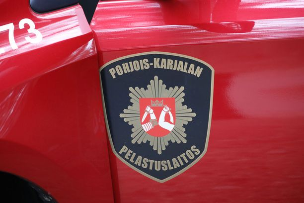 Pohjois-Karjalan pelastuslaitos sai tiedon palosta sunnuntaina iltapäivällä.