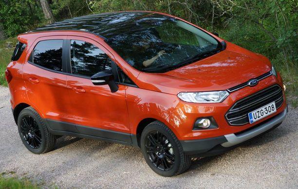 15. Ford Ecosport hakee paikkaansa pienten katumaasturien markkinoilta.