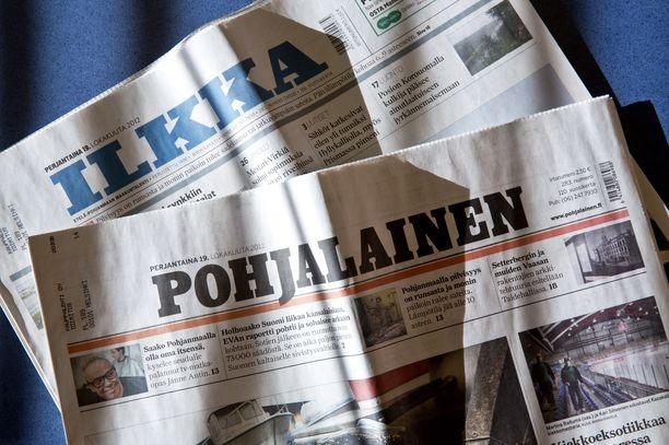 Ilkka ja Pohjalainen suunnittelevat yhdistymistä.