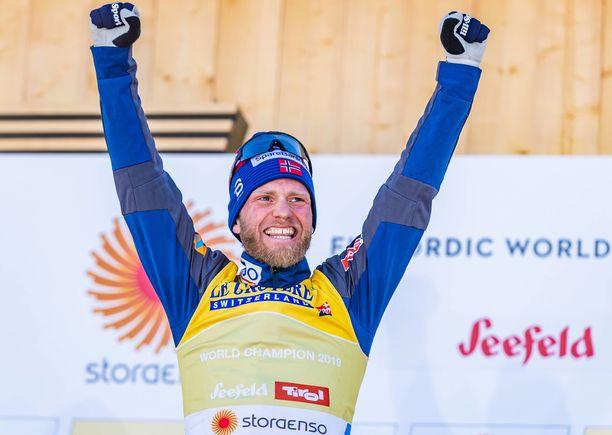 Martin Johnsrud Sundby pääsee arvokohteisiin kiinni halvalla.