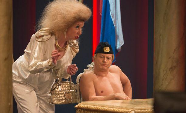 Kari Ketosen Putin-imitaatio toi miehelle saman roolin Iron Sky 2 -elokuvaan.