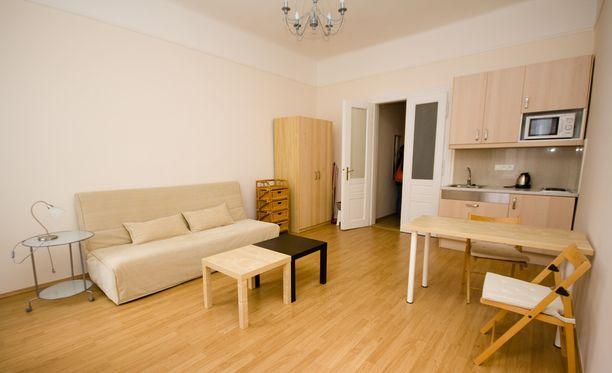 Pieni asunto on helpompi pitää siistinä kuin iso talo.