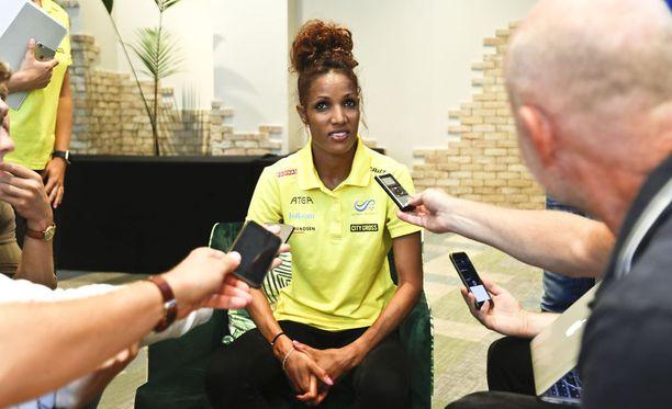Eritreassa syntynyt Meraf Bahta on Ruotsin MM-mitalitoivo.