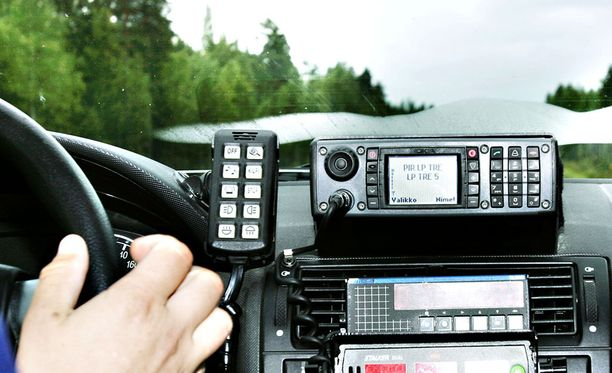 Poliisiauton hallintalaitteistoon tuli toimintahäiriö huonolla hetkellä.