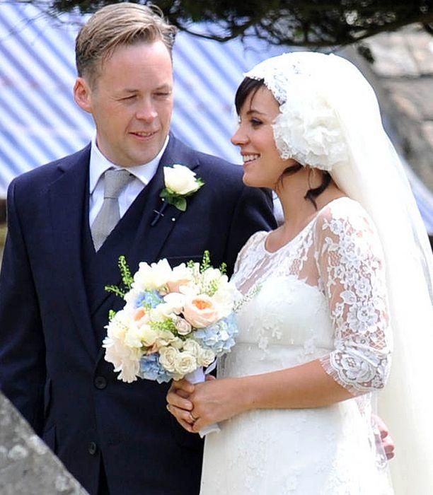 Lily Allen ja Sam Cooper avioituivat tänään.