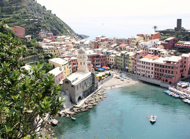 Italiassa on mukavan lämmintä vielä syyskuussakin.