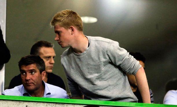 Kevin de Bruynen siirto Manchester Cityyn julkistettaneen maanantaina.