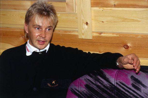 Matti Nykänen kuvattuna vuonna 1992.