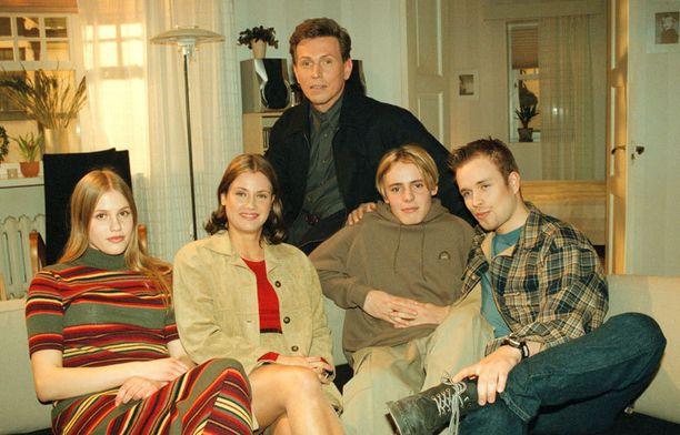 Salkkari-tähdet vuonna 1999.