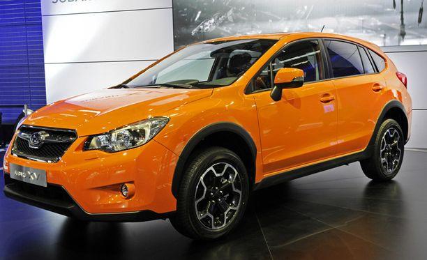 Vuoden alussa Suomeen ajaa uusi pieni Subarun katumaasturi.