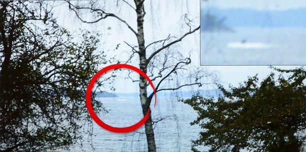 Ruotsin armeija jahtasi viime syksynä sukellusvenettä tämän havainnon perusteella.