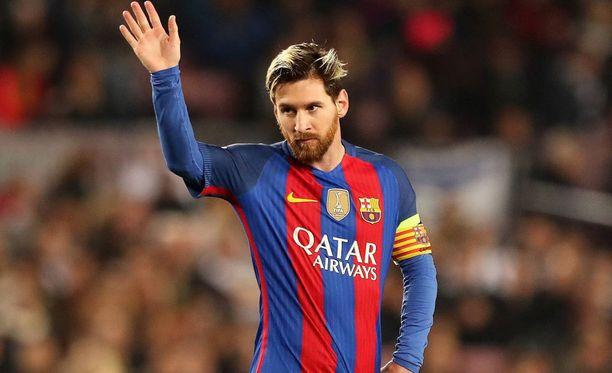 Lionel Messin matka siirtyi.
