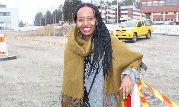 Jyväskylän äänikuningatar Bella Forsgrén sai kuntavaaleissa 1279 ääntä.
